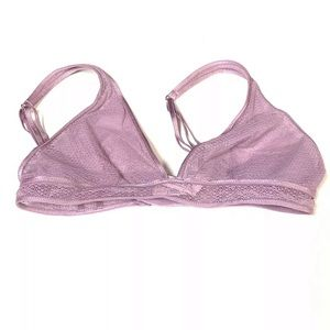NWT NEW Victorias Secret Bralette Small Purple